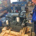 проверка состояния ремня ГРМ двигателя Доосан