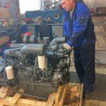 Техническое обслуживание дизельного двигателя Доосан