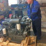 Диагностика дизельного двигателя Doosan MEGA 250-V