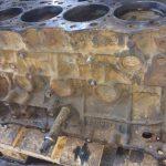 Корпус дизельного двигателя экскаватора JCB160