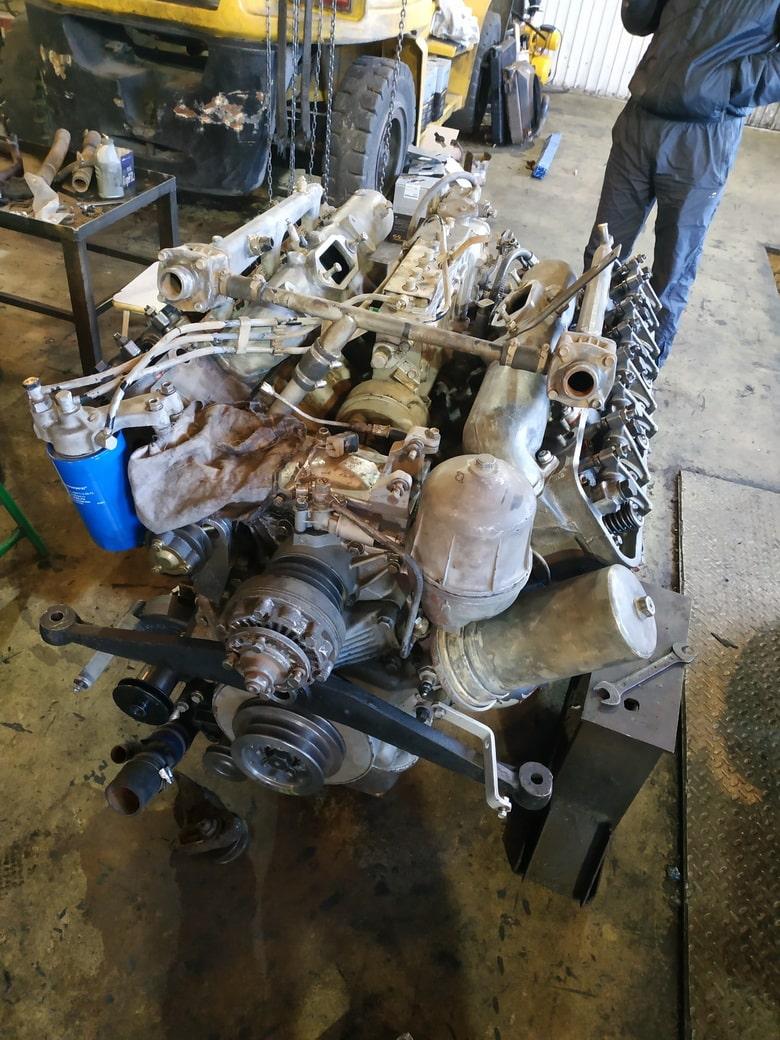 ремонт четырехтактного двигателя культиватора