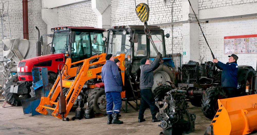 Выездной ремонт трактора МТЗ