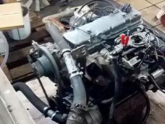 Ремонт двигателя Komatsu FG18-Т21
