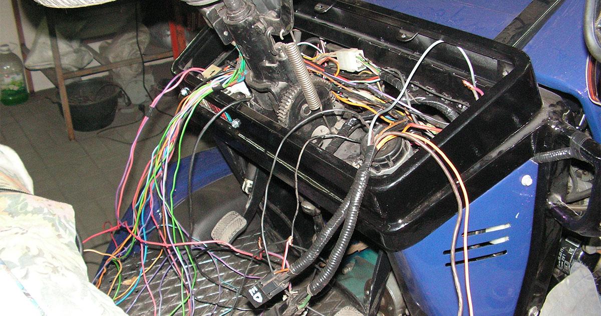 Ремонт электрооборудования погрузчика