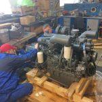 Пусконаладочные работы двигателя Doosan MEGA 250-V