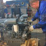 Замена ремня ГРМ дизельного двигателя