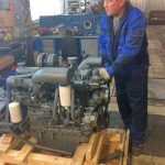 Подготовка дизельного двигателя Doosan MEGA 250-V