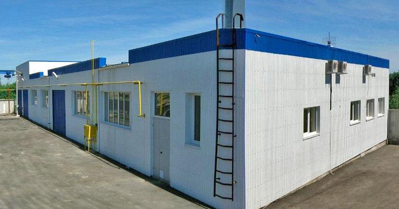 Здание универсал-спецтехника Тула