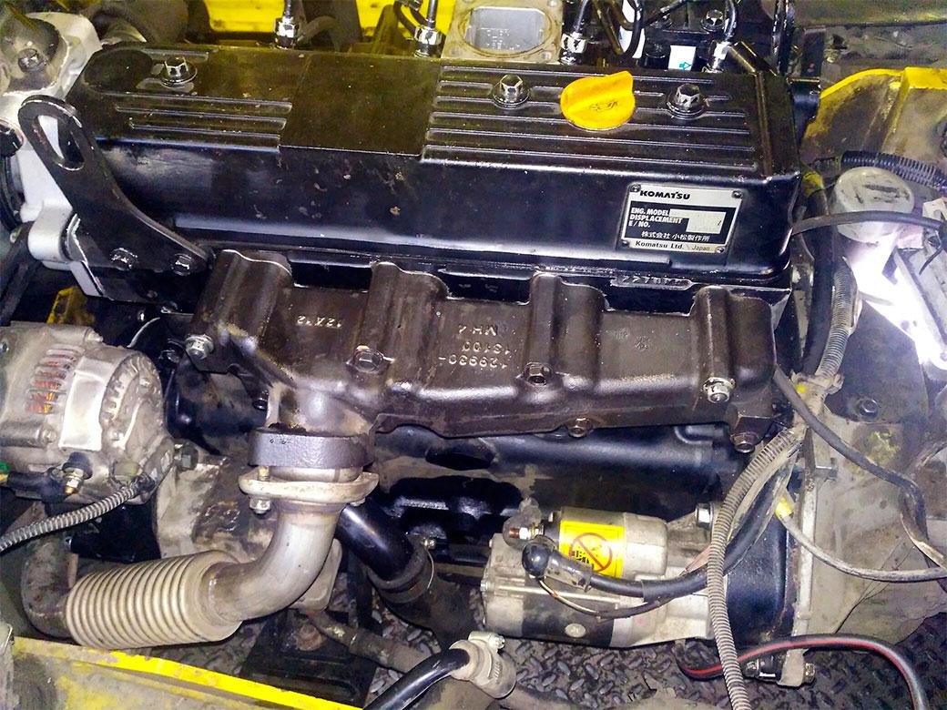 3f9cb91d1 Капитальный ремонт двигателя и КПП погрузчика Komatsu FD15T16