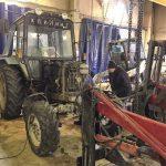 Разборка и ремонт трактора МТЗ-82