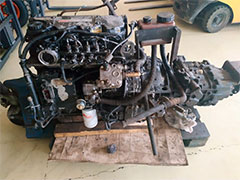 Дизельный двигатель Cummins 4 ISBe 185