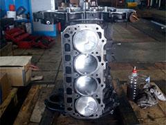 Блок цилиндров двигателя Komatsu 4D92E