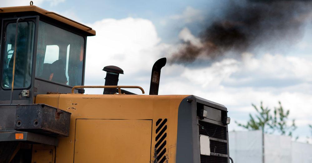Выхлопная система трактора